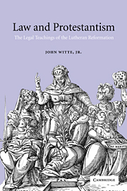 Law and Protestantism
