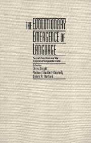 The Evolutionary Emergence of Language