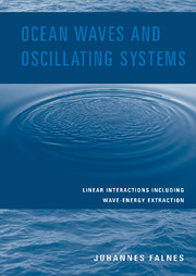 Ocean Waves and Oscillating Systems
