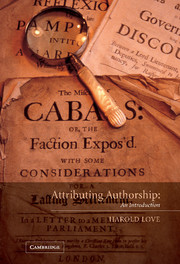 Attributing Authorship
