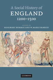 A Social History of England, 1200–1500