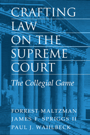 Crafting Law on the Supreme Court