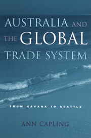 Australia and the Global Trade System