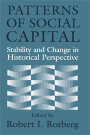 Patterns of Social Capital