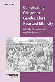 Complicating Categories: Gender, Class, Race and Ethnicity
