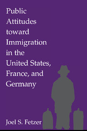 Public Attitudes toward Immigration in the United States, France, and Germany