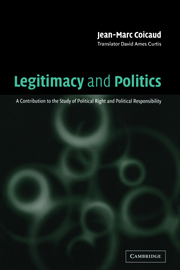 Legitimacy and Politics