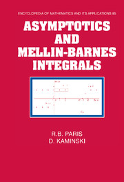 Asymptotics and Mellin-Barnes Integrals