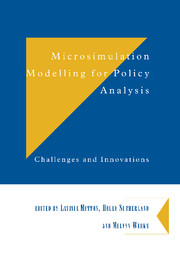 Microsimulation Modelling for Policy Analysis