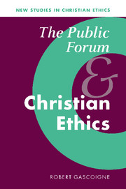The Public Forum and Christian Ethics