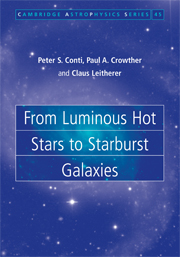 From Luminous Hot Stars to Starburst Galaxies