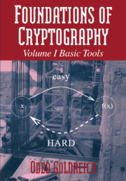 Foundations of Cryptography