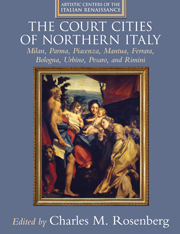 The Court Cities of Northern Italy