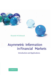 Asymmetric Information in Financial Markets