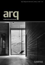 arq: Architectural Research Quarterly