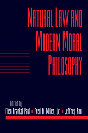 Natural Law and Modern Moral Philosophy