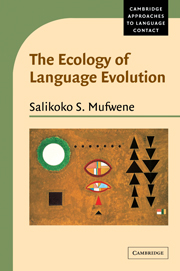 The Ecology of Language Evolution
