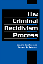 The Criminal Recidivism Process