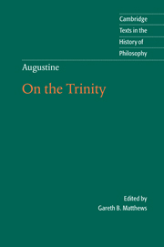 Augustine: On the Trinity