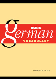 Using German Vocabulary