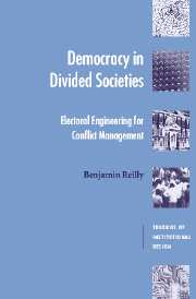 Democracy in Divided Societies