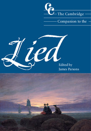 The Cambridge Companion to the Lied