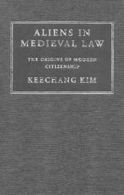 Aliens in Medieval Law