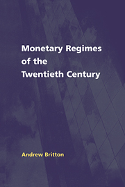 Monetary Regimes of the Twentieth Century