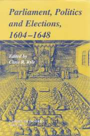 Parliaments, Politics and Elections, 1604–1648