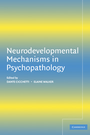 Neurodevelopmental Mechanisms in Psychopathology