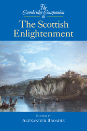 The Cambridge Companion to the Scottish Enlightenment