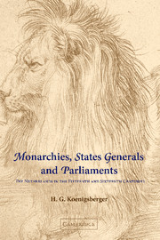 Monarchies, States Generals and Parliaments