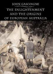 The Enlightenment and the Origins of European Australia