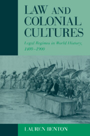 Law and Colonial Cultures
