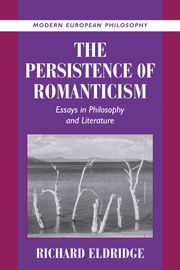 The Persistence of Romanticism
