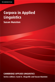 Corpora in Applied Linguistics