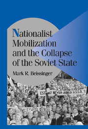 Nationalist Mobilization and the Collapse of the Soviet State