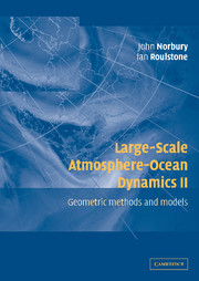 Large-Scale Atmosphere-Ocean Dynamics