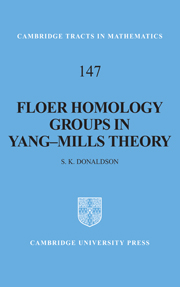 Floer Homology Groups in Yang-Mills Theory