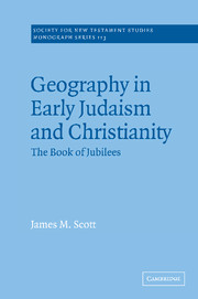 Geography in Early Judaism and Christianity