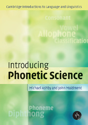 Phonetics coursebook phonetics and phonology cambridge related books fandeluxe Gallery