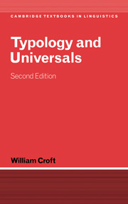 Typology and Universals