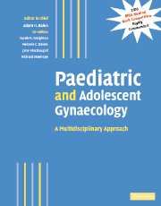 Paediatric and Adolescent Gynaecology