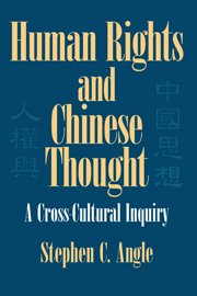 Human Rights in Chinese Thought