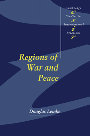 Regions of War and Peace