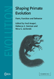 Shaping Primate Evolution