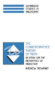 The Correspondence Theory of Truth
