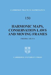 Harmonic Maps, Conservation Laws and Moving Frames