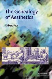 The Genealogy of Aesthetics