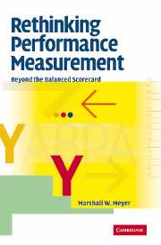 Rethinking Performance Measurement